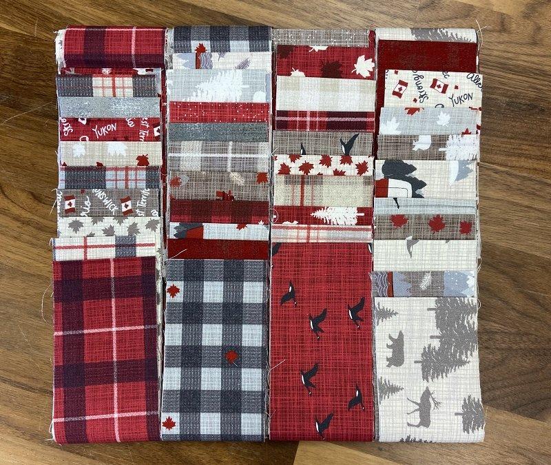 Strip Set - True North I and II (40 - 2.5 x WOF strips) by Kate & Birdie for Moda