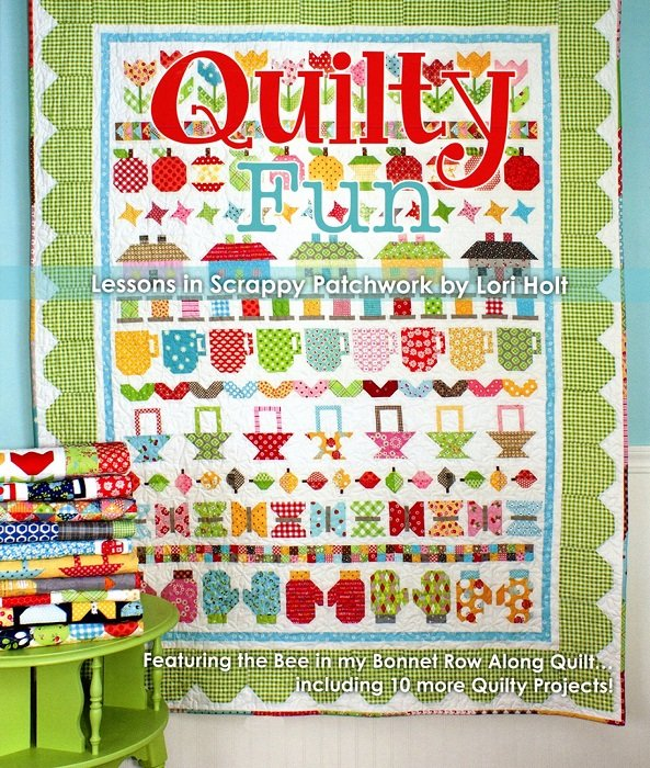 Book - Quilty Fun: Lessons in Scrappy Patchwork by Lori Holt for It's Sew Emma