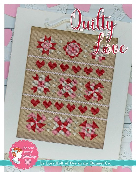 Pattern - Quilty Love Cross Stitch by Lori Holt for It's Sew Emma
