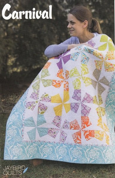 Pattern - Carnival (43 x 51) by Julie Herman for Jaybird Quilts