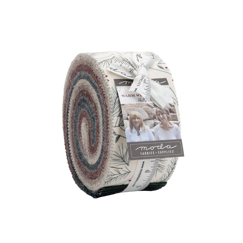 Jelly Roll - Warm Winter Wishes (40 x 2.5 strips) by Holly Taylor for Moda