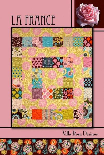 La France - A Villa Rosa Pattern (36 x 45)