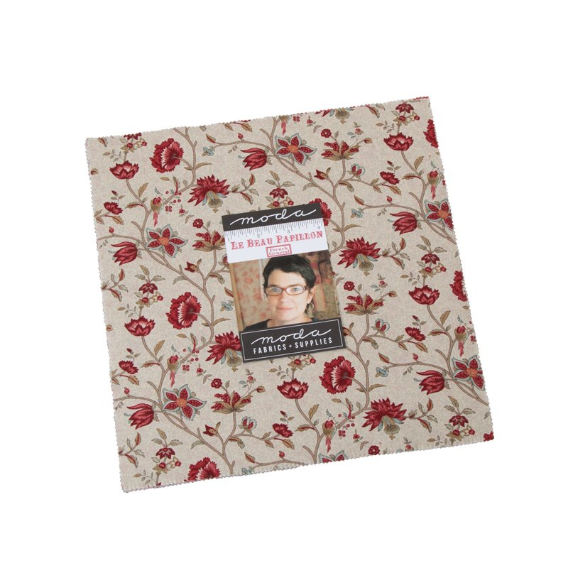 Layer Cake - Le Beau Papillon (42 x 10 squares) by French General for Moda