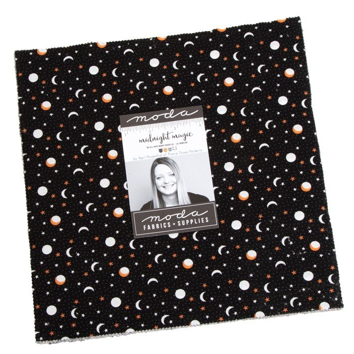Layer Cake - Midnight Magic (42 x 10 squares) by April Rosenthal for Moda