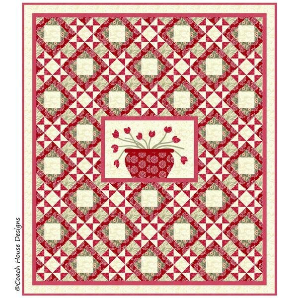 Pattern - Montmartre (62 x 70) by Barbara Cherniwchan for Coach House Designs