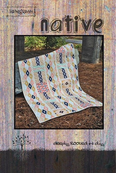 Native - A Villa Rosa Pattern (34 x 48)