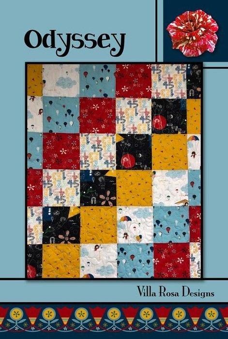 Kit - Odyssey (37 x 45) featuring Tapa Cloth Batiks by Banyan Batiks