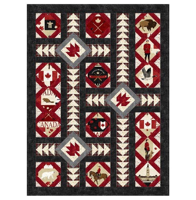 Pattern - Parliament Squares (51 x 69) by Miss Winnie Designs