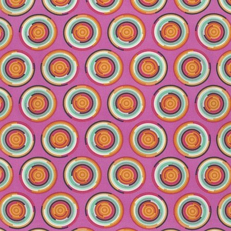 Chipper - The Hypnotizer in Sorbet by Tula Pink for Free Spirit Fabrics