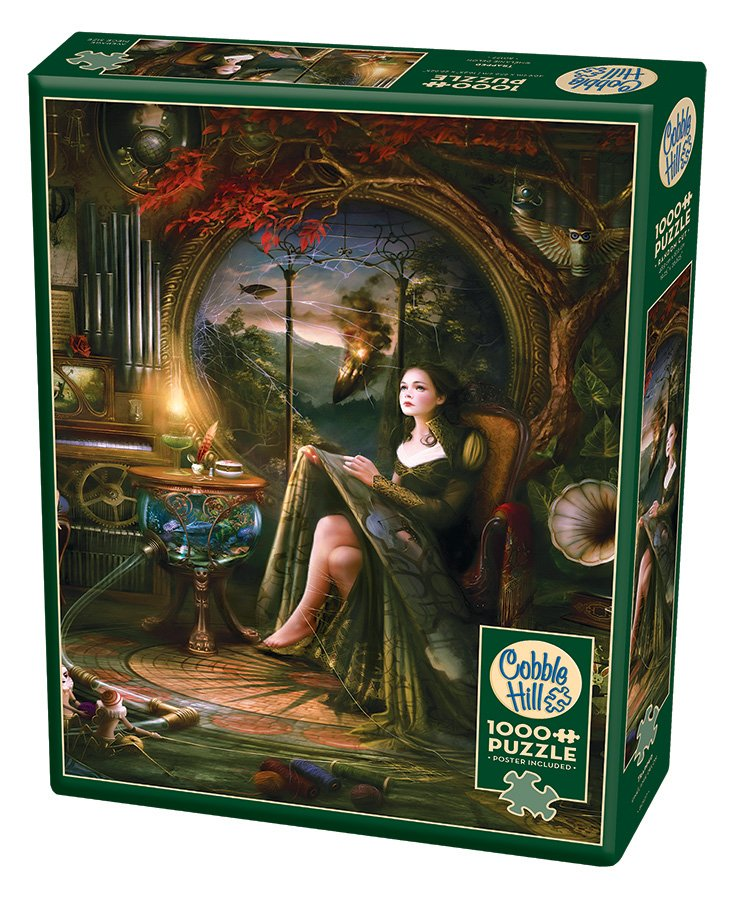 Puzzle - Trapped (1000 pieces) by Melanie Delon for Cobble Hill