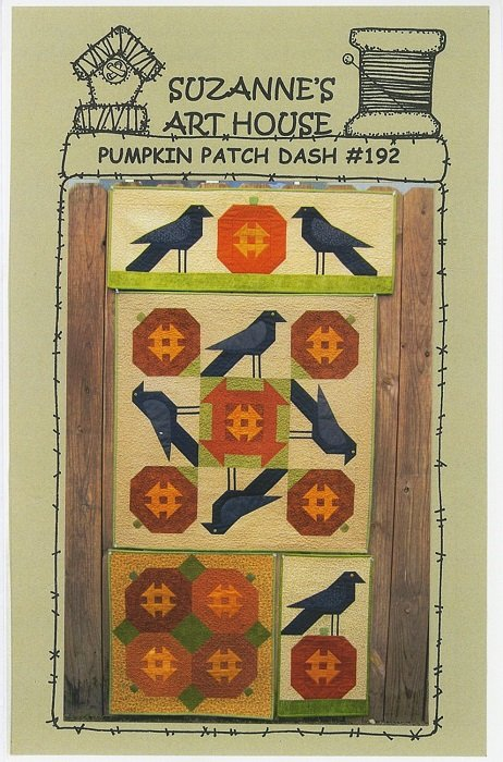 Pattern - Pumpkin Patch Dash (various sizes) by Suzanne's Art House