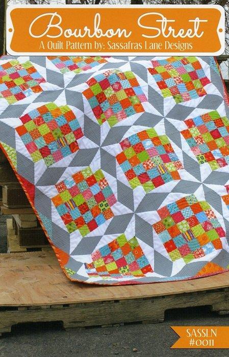 Pattern - Bourbon Street (4 sizes) by Sassafras Lane Designs
