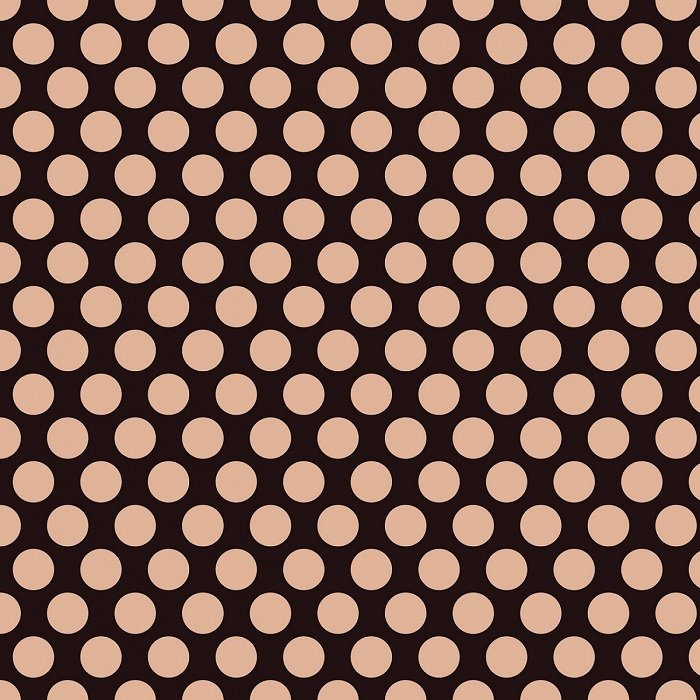 Glam Girl - Dots on Black with Rose Gold Sparkle by Dani Mogstad for Riley Blake