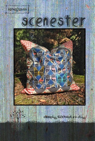 Scenester: 20 Pillow - A Villa Rosa Pattern