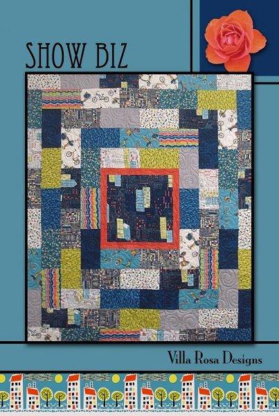 Show Biz - A Villa Rosa Pattern (54 x 63)