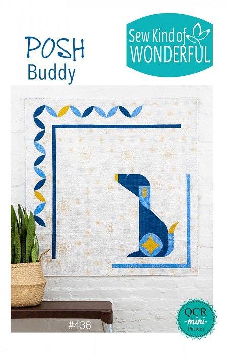 Pattern - Posh Buddy (50 x 50) by Helen Robinson from Sew Kind of Wonderful