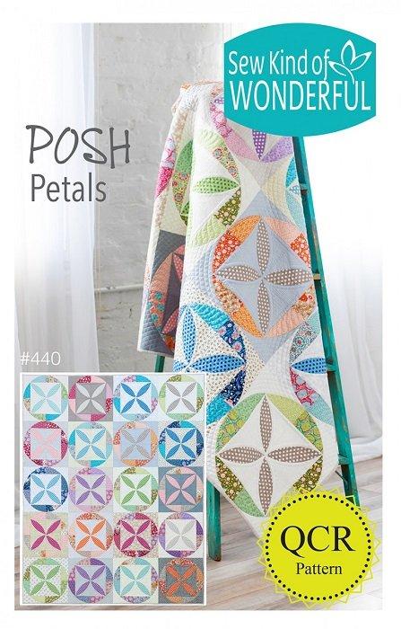Pattern - Posh Petals (64 x 80) by Jenny Pedigo from Sew Kind of Wonderful