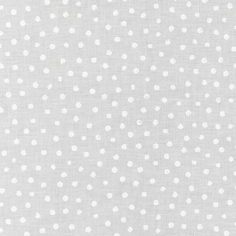 Mini Madness - Spots in White on White by RKF Collection for Robert Kaufman