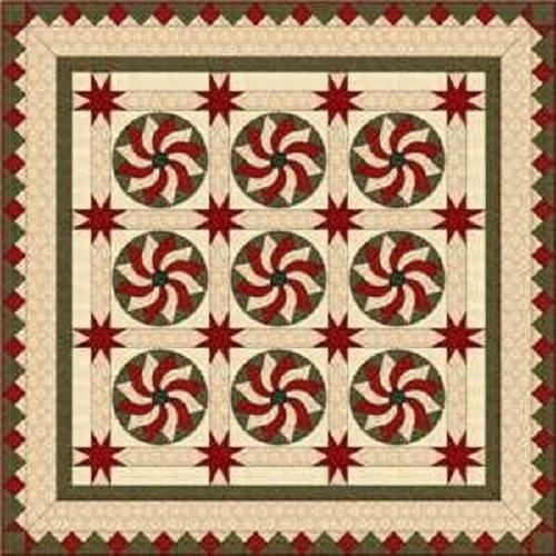 Pattern - Cinnamon Swirl by Sherri Hisey for Border Creek Station