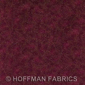Brilliant Blenders in Burgundy / Gold by Hoffman