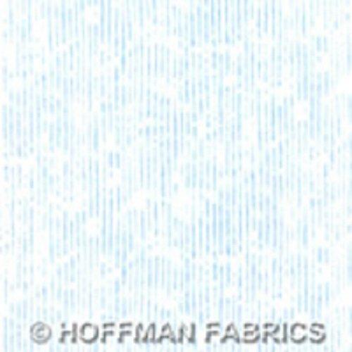 Striped Blender - Skinny Stripes in Dove by Hoffman