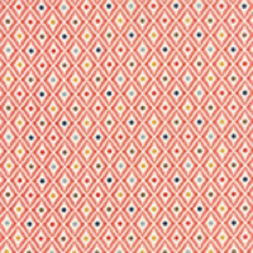 Persimmon - Diamonds in Pumpkin Cookies by BasicGrey for Moda