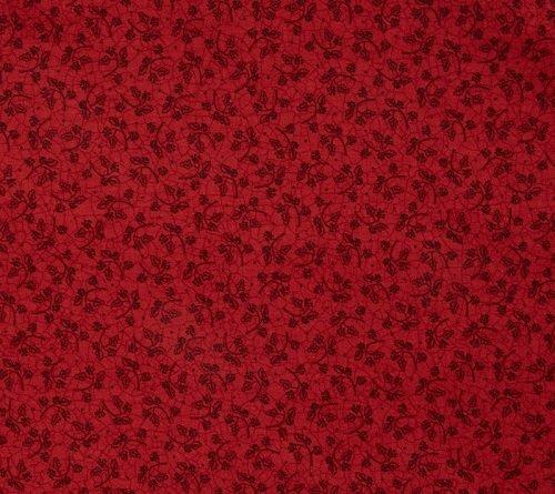 Patchwork Garden - Winter Berry Toss in Rosy Red by Kathy Schmitz for Moda