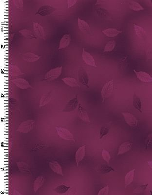 Tone It Up - Restless Leaves in Burgundy by Kona Bay