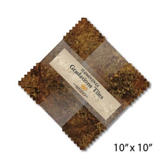 Tiles - Stonehenge Gradations in Iron Ore (42 x 10 squares) by Northcott