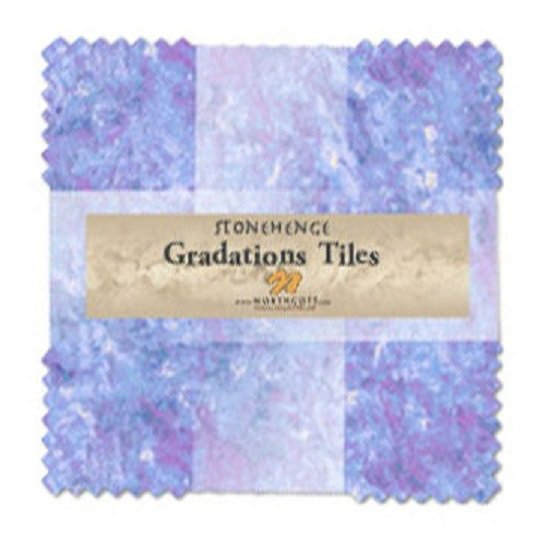Tiles - Stonehenge Gradations in Mystic Twilight (42 x 10 squares) by Northcott