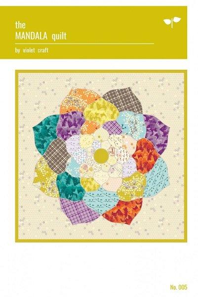 Pattern - Mandala Quilt (60 x 60) by Violet Craft