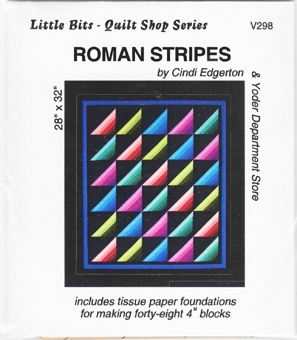 Pattern - Roman Stripes (28 x 32) by Cindi Edgerton from A Very Special Collection