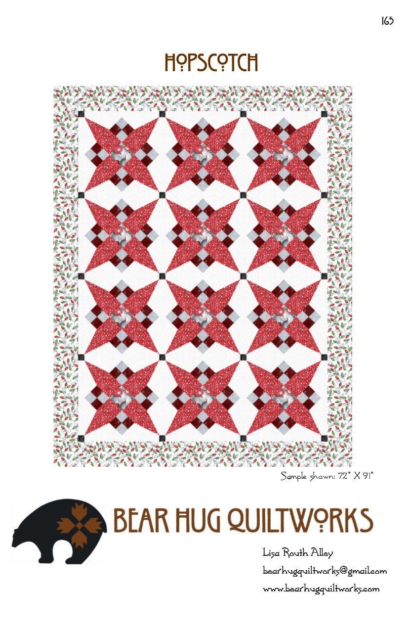 Bear Hug Quilt Works by Lisa Ruth Allay