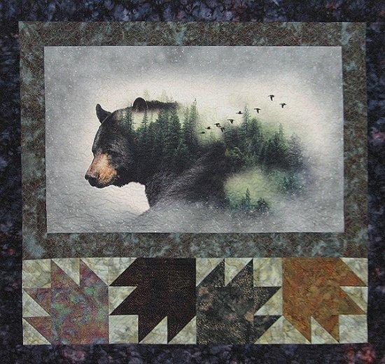 Call of the Wild by Kari Nichols and Hoffman Fabrics