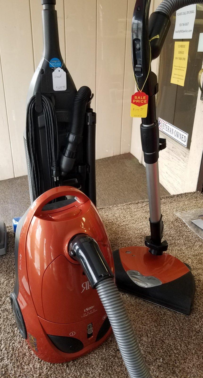 Riccar Canister Vacuum - Appleton