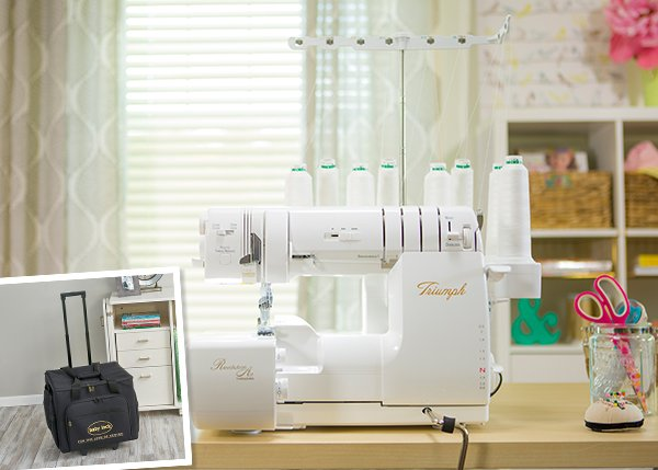 "baby lock Plain Hemmer 1//2/"" BLE8-S6 Serger Accessory"