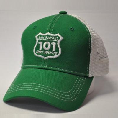 101 Surf Sports Cap - Green/White