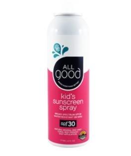 All Good Sport Sunscreen Spray Kids SPF 30 6OZ
