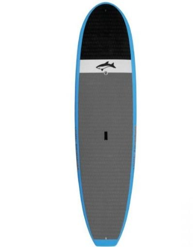 Jimmy Lewis 9'6 Black and Blue Machine - Blue Concave nose