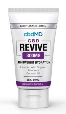 CBDMD Moisturizing Lotion 2oz Squeeze 300mg