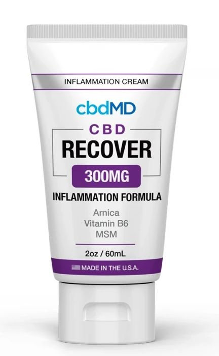 CBDMD Inflammation Formula 2oz Tube 300mg