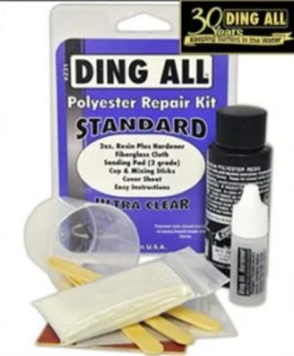 Ding All Poly Repair Kit