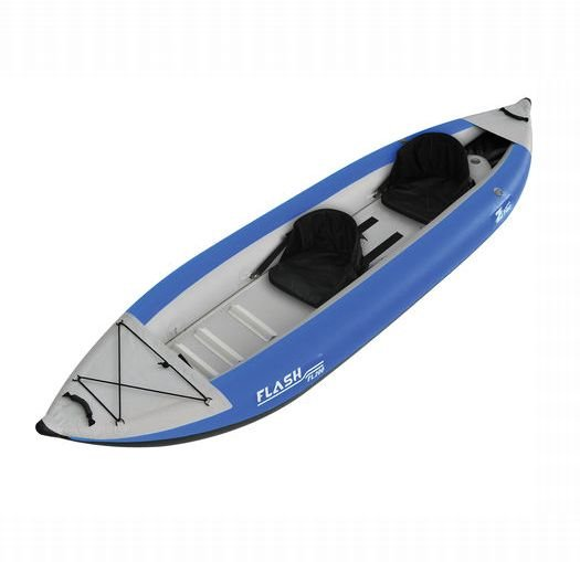 USED Solstice Flare Inflatable Kayak 2 Person
