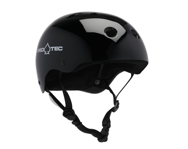 Pro-tec Classic Helmet Black Gloss