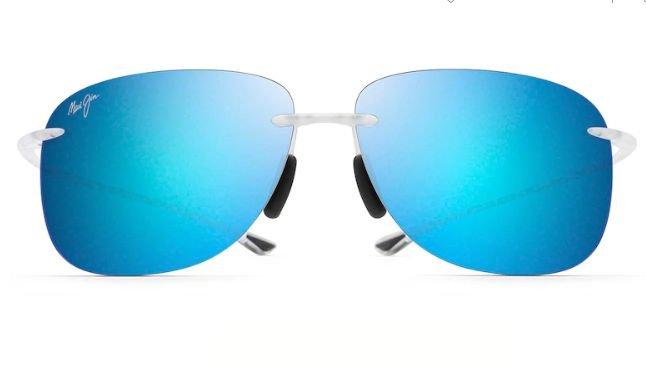 Maui Jim Blue HIkina Crystal Matte