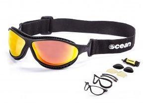 Ocean Sunglasses Tierra De Fuego Gloss Blk Smoke Lens