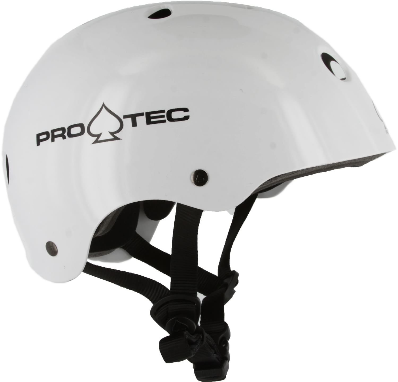 Pro-tec Classic Helmet White Gloss