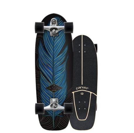 Carver c7 Raw 31.25 Knox Quill Surfskate Compete (2019)