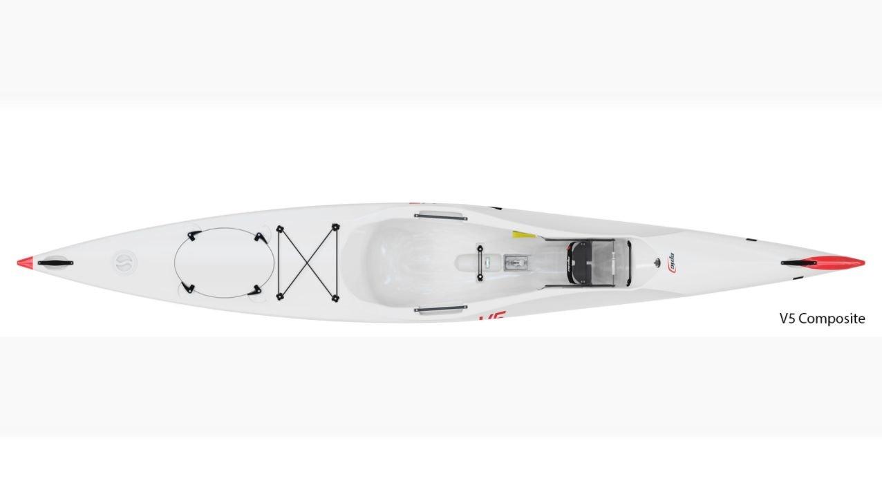 DEMO Epic Kayaks V5 Surfski Polyethylene (Grey)