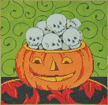Halloween Needlepoint Head Games